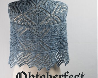 Oktoberfest Shawl Yarn Kit in your choice of size and color