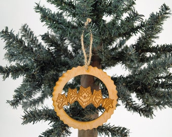Wolf Pack Ornament