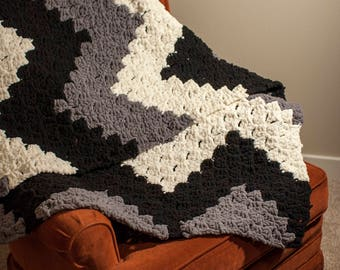 Finley over-sized throw blanket