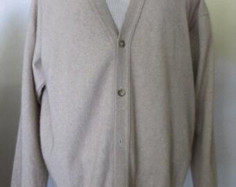 Angora Cardigan Boyfriend Sweater Cardigan Slouchy Sweater 1990s