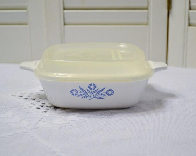 Vintage Corning Ware Petite Pan with Lid Cornflower Blue P41 Small Individual Casserole PanchosPorch