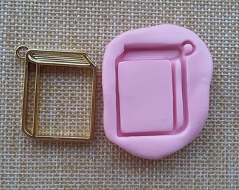 3 cm mold silicone rubber for resin paper bezel