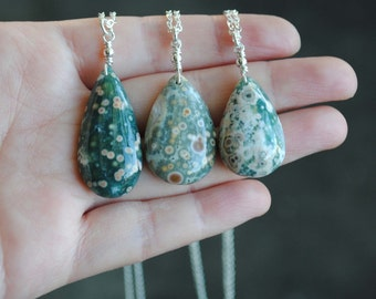 Ocean Jasper Necklace - Ocean Jasper Jewelry