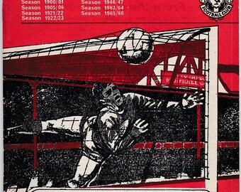 Vintage Football (soccer) Programme - Liverpool v Queen's Park Rangers, 1968/69 season