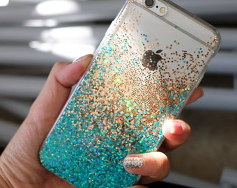Gorgeous (Emerald) - glitter case iphone 7 case iphone 7 plus case iphone 6s case iphone 6s plus case iphone 6 case iPhone 6plus case