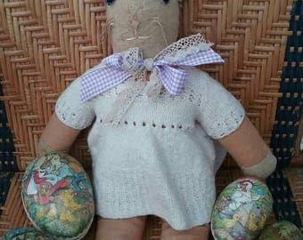 The sweetest vintage rabbit, vintage bunny