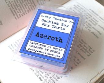 Azeroth Wax Tart. Soy Candles UK, WoW, Geek Gift, Geek Candle, Wax Tarts, Soy Melts, Scented Tarts, Soy Tarts, Tarts, Wax Melts