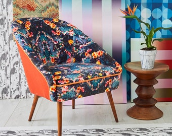 The Marchena Vintage Chair in Fierce Beauty