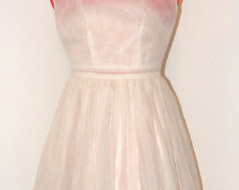 Vintage 1950s Beautiful Girls Dress in size 6/7