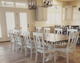 Gorgeous rustic farmhouse table, dinning table