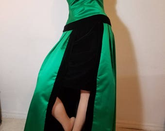 FREE  SHIPPING  Couture 1980 Designer Gown