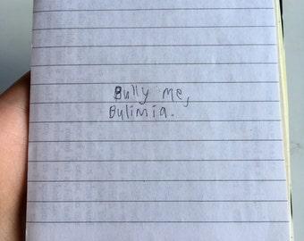 Bully Me Zine (handmade, original one-of-a-kind)