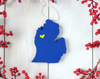 Michigan ornament   Etsy