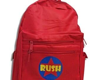 Personalized Backpack, Backpack for Boy, Backpack for Girl, Superhero Theme, Back to School, Toddler Backpack, Custom decal monogram