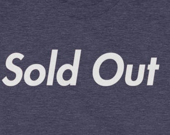 Sold Out T-shirt Vintage Discount Sale Counter Culture Music 1960s