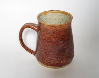 Brown Stoneware Mug