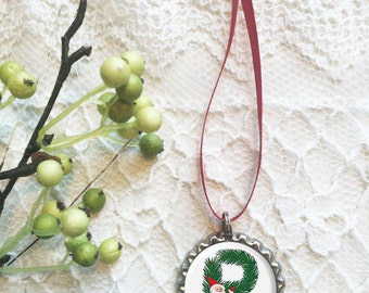 "Christmas Ornament, Letter ""P"" Ornament, Monogram Ornaments, Initial Ornaments, Any Letter Available, Our First Christmas, 2017 Ornament"