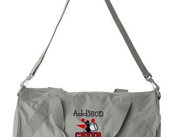 Duffel Bag * Personalized Cheer Duffle Bags * Cheerleader Team Tote Bag * Custom Bag with Name * Monogrammed Gift