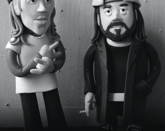 Clerks Greeting Card Card | 15 bucks, little man | Jay and Silent Bob | Claymation Style