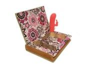 Mature Vibrator Hollow Book Safe Bad Girl with Posh silicone mini rabbit Vibrator Adult XXX sex toy case