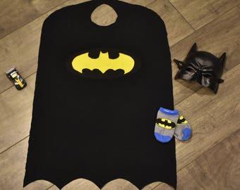 Batman Cape, Kids Superhero Cape, Superhero, Cape, Costume, Batman, Dress Up