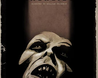 THE EXORCIST movie poster full colour art print