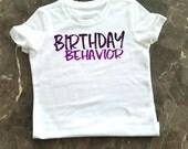 Custom Adult Birthday Shirt