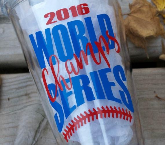 Cubs World Series Tumbler