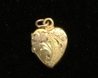 Vintage Heart Shaped Locket