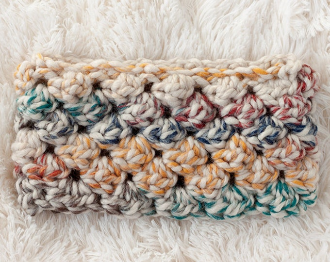 PDF Crochet Pattern - Puffed Headband