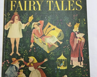 vintage children's book Andersen's Fairy Tales