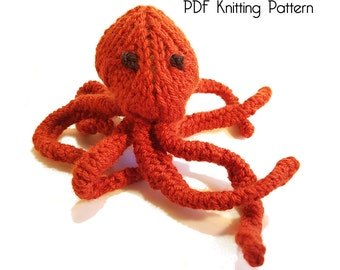 Knitted octopus Etsy UK