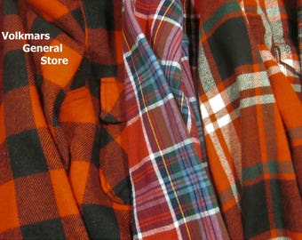 Vintage Flannel Shirts Country Concert Comfort Luke Florida Georgia Line Garth Urban Zac Brown Late Night Evening Warmth For Men & Women