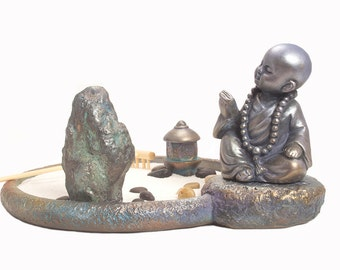 Yoga/ Zen Garden/ Buddha Statue/ Office Supplies/ Office Decor/ Office Gifts/ DIY Kit/ DiY/ Yoga Gifts/ DIY Gifts/ Office Desk Decor