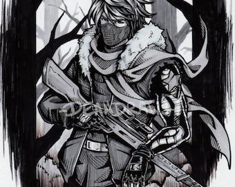 Soviet Russia Winter Soldier (PRINT)