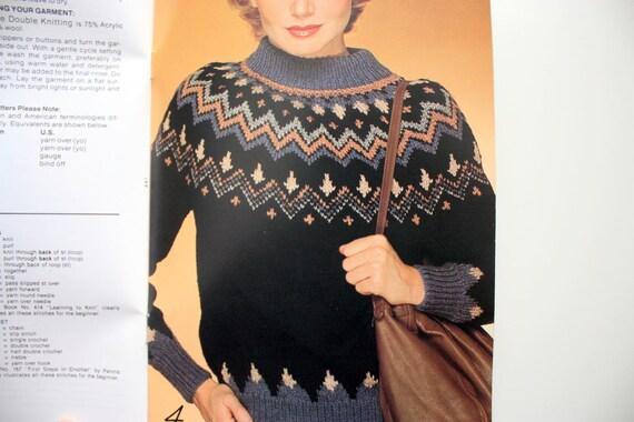 Patons 441 Double Knitting - fashion Knits, fair isle sweaters ...