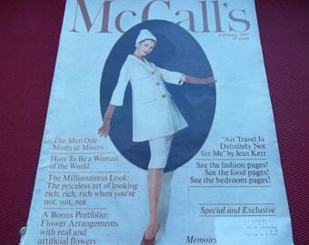 Vintage February 1960 McCall's Magazine