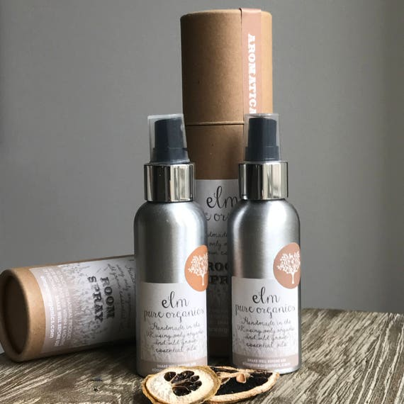 Inika. All Natural Organic Home Fragrance Room Spray . Only Organic Essential Oils. Chamomile, Lavender, Rosemary, Lemongrass. Eco friendly.