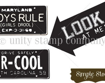 Unity Stamp, Boys Rule Stamps