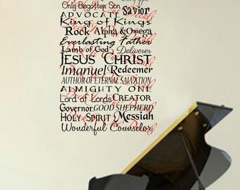 Names of the Savior  E00269