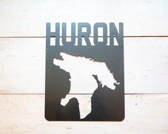 Lake Huron Steel Map