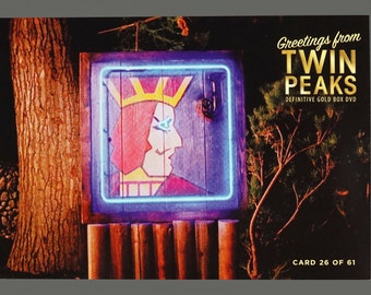 Twin Peaks Gold Box Postcard Card # 26 of 61 One-Eyed Jack's