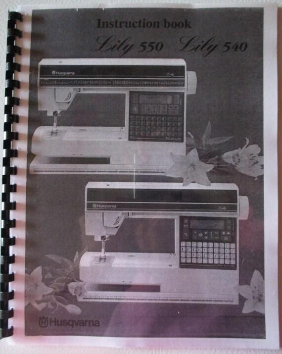 husqvarna viking 350 computer sewing machine manual