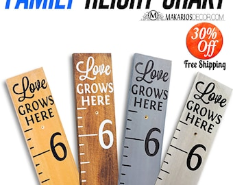 Height Chart.Wall Height Chart.Custom Height Chart.Personalized Height Chart.Wood Height Chart.Kids Height Chart (Signature Height Chart)