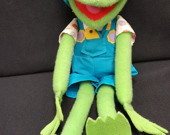 Vintage Jim Henson's Muppets *Kermit the Frog* 1993 Plush Toy