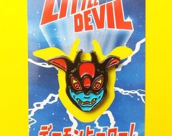 Devilman Soft Enamel Pin - Little Devil Demon Hero Lapel Pin