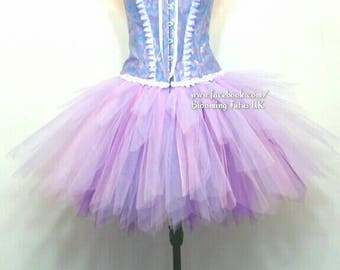 ADULT Rapunzel Inspired Handmade Tutu -Birthday,Party, Photoshoot, Pageant, Fancy Dress, Princess
