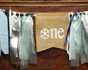 Winter Onederland Backdrop, Onederland Table Decoration, Winter Onederland Boy Sign, Onederland Banner, Winter Wonderland, Snowflake Banner