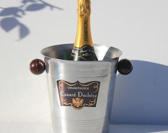 Vintage French   Champagne Ice bucket cooler,restaurant,mancave,celebration,        Canard, Duchene