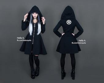 Pentagram witchy hoodie
